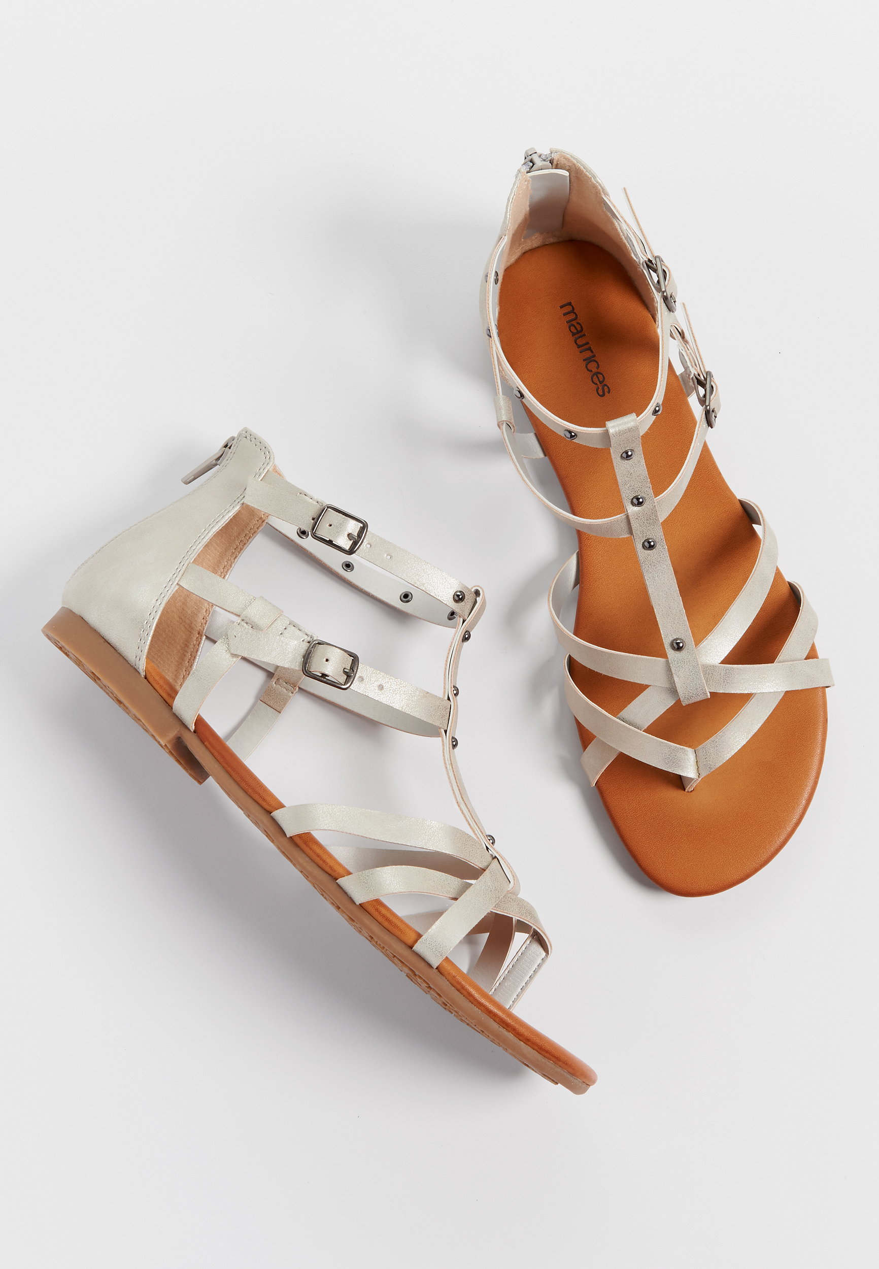 0eb80f485 Ashlee studded gladiator sandals