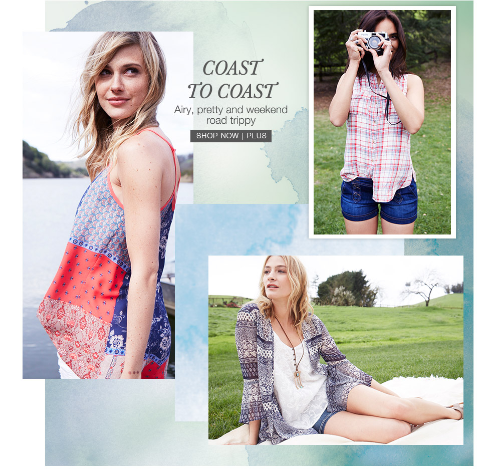 maurices - summer collections - coast to coast