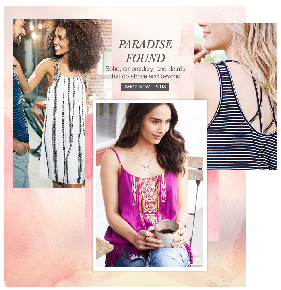 maurices - summer collections - paradise found