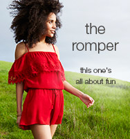 maurices dresstination -the romper