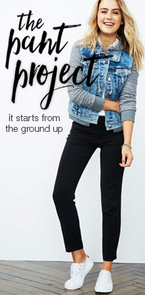 the pant project - starts from the ground up
