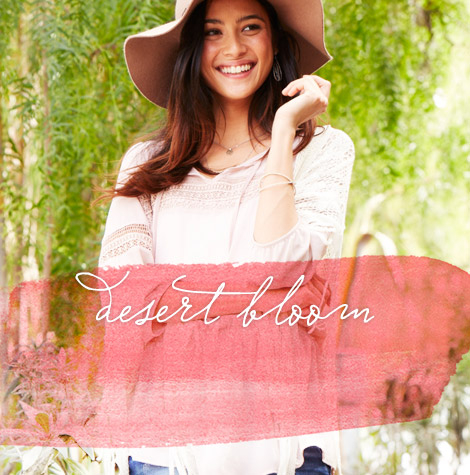 maurices - spring collections - desert bloom