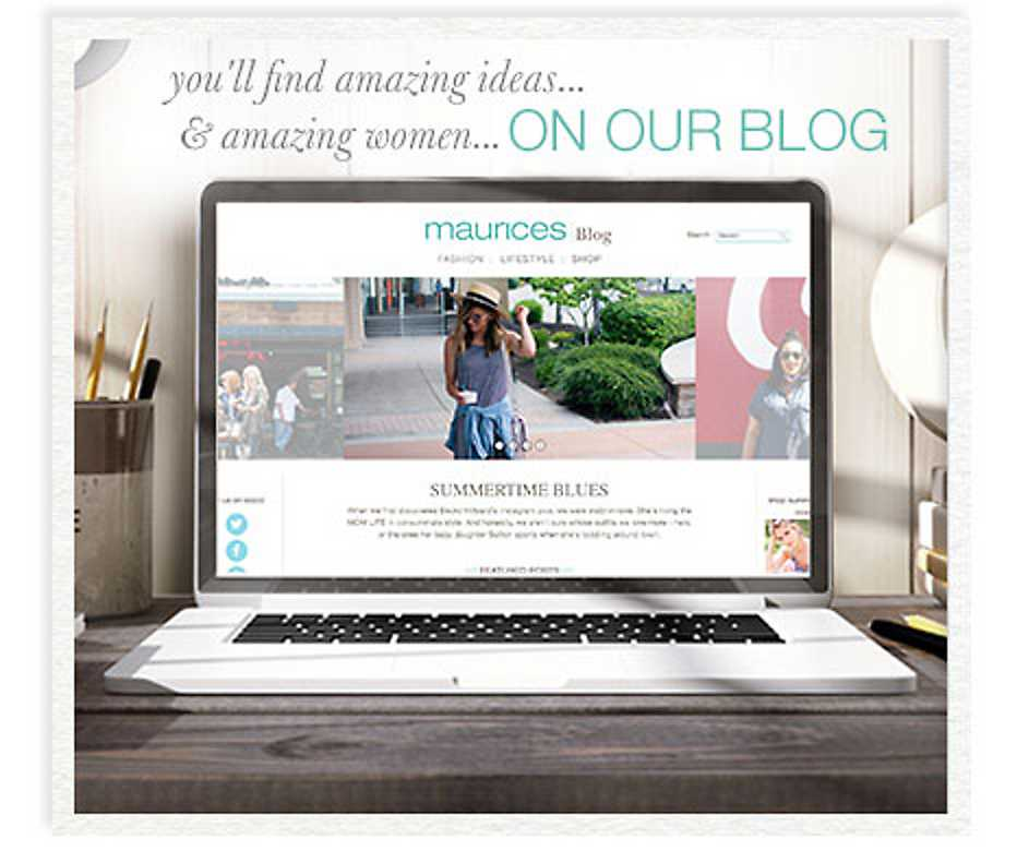 maurices blog - read our latest post