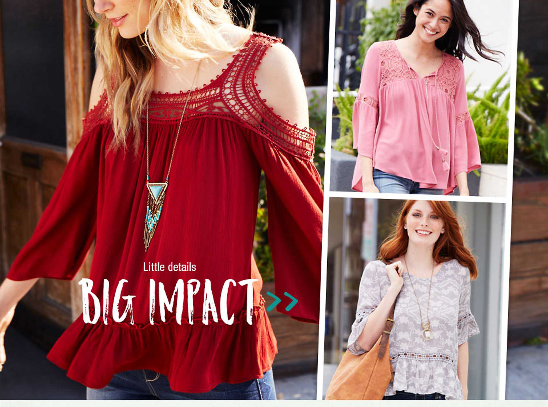 Little details - big impact - shop this must-have