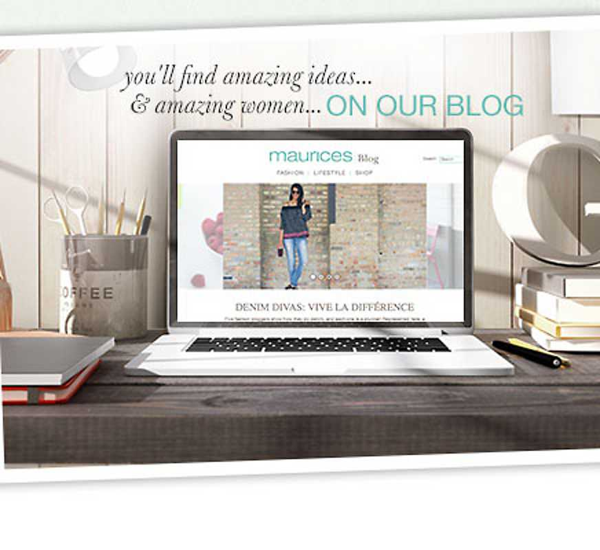 You'll find amazing ideas & amazing women on our blog - read the recent post
