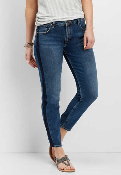 Silver Jeans Co.® vintage side strip skinny jean