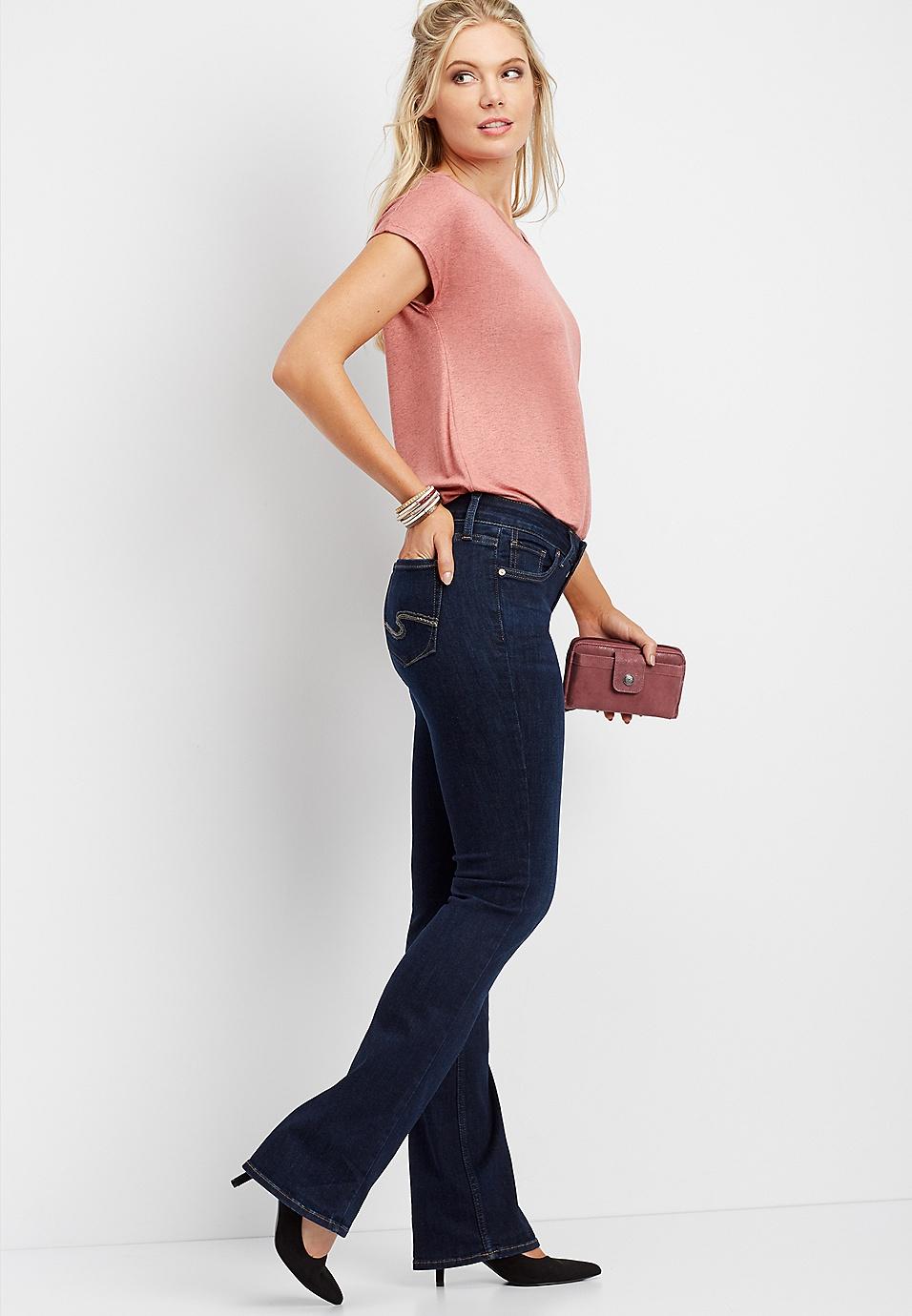 f491d44a30b Silver Jeans Co.® Suki dark wash slim boot jean