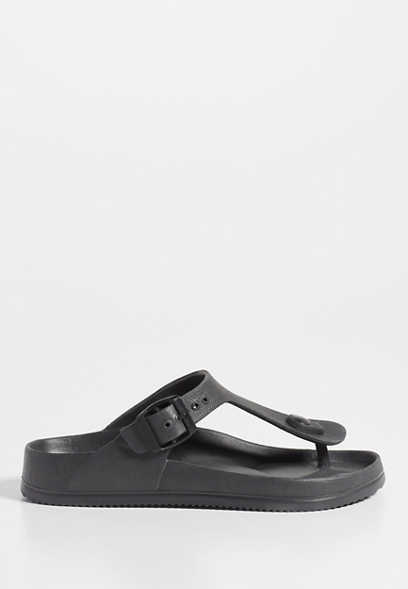 Sharon molded thong footbed sandal