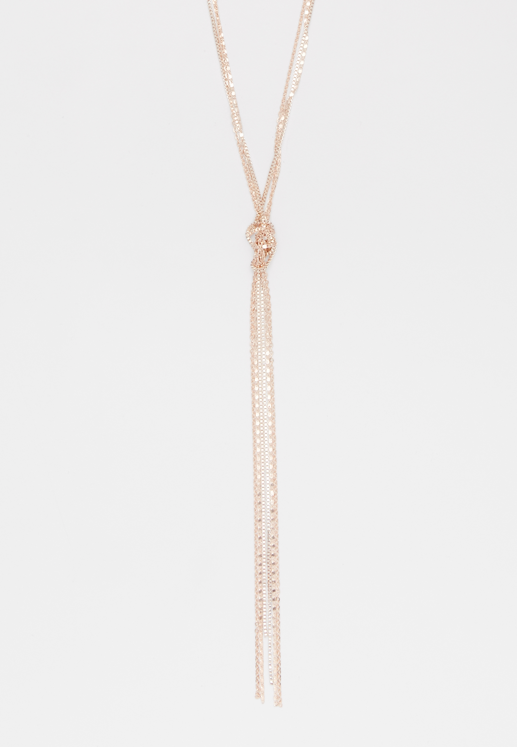 Maurices Rose Gold Fine Chain Knot Necklace