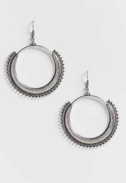 Maurices Cutout Stone Drop Earrings PL2ATcji
