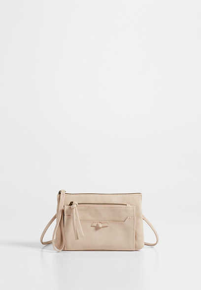 knot front crossbody bag