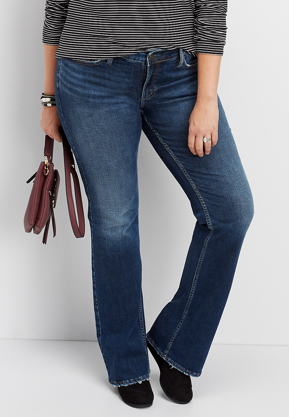 f85b2c89a0b79 plus size Silver Jeans Co.® Suki slim boot jean