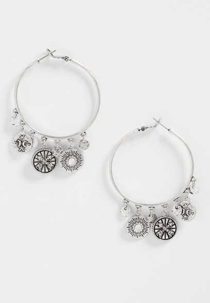 Silver Jeans Co Celestial Pendant Bracelet a6sSc