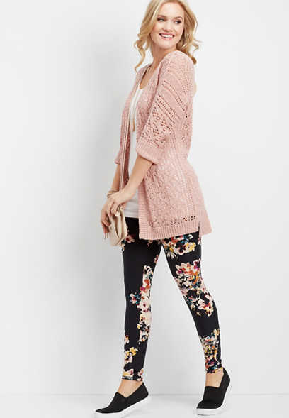 ultra soft floral legging
