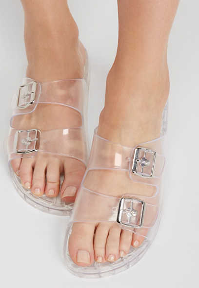 MIA Marian clear molded footbed sandal