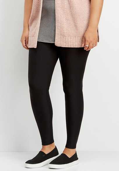 plus size ultra soft high rise legging