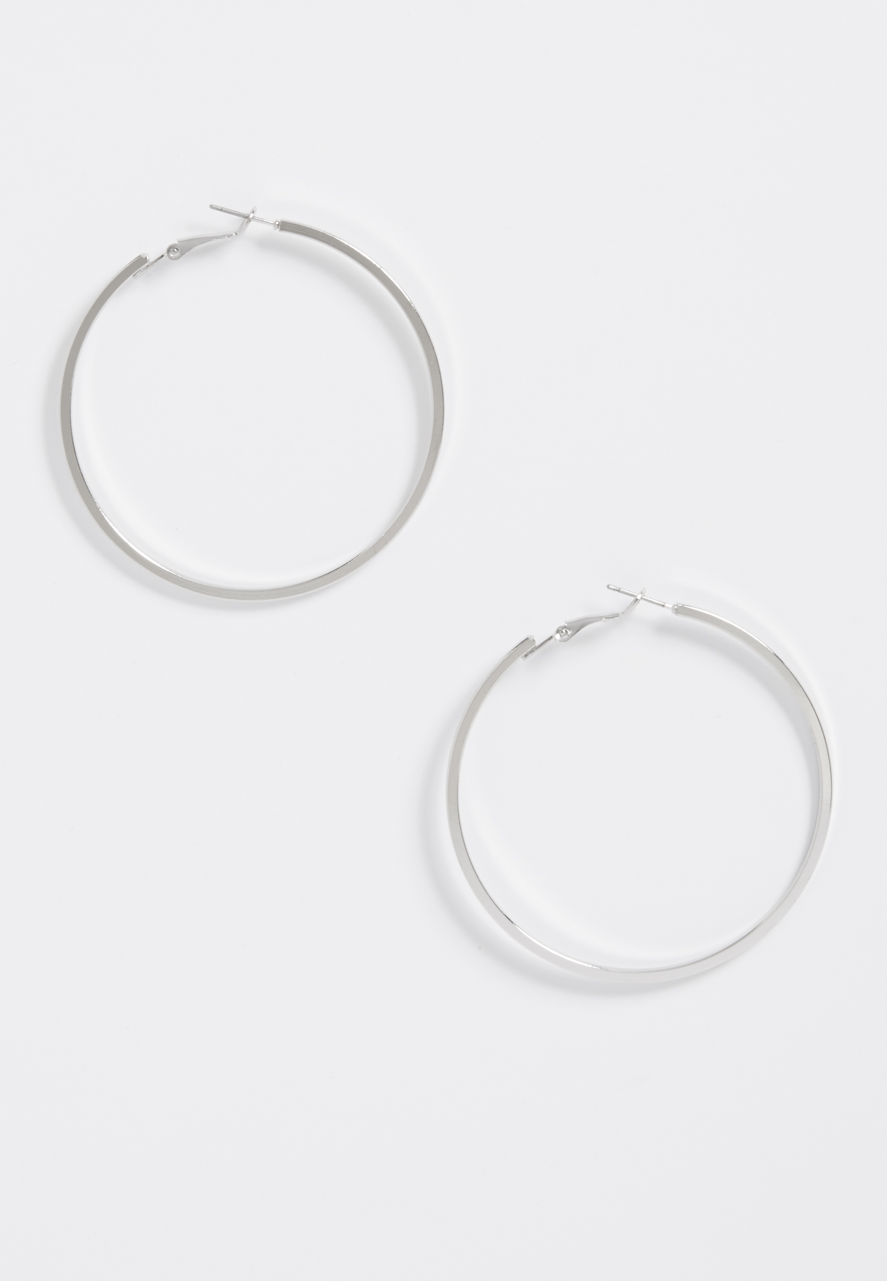 Maurices Rose Gold Oblong Hoop Earring 6lctuSa