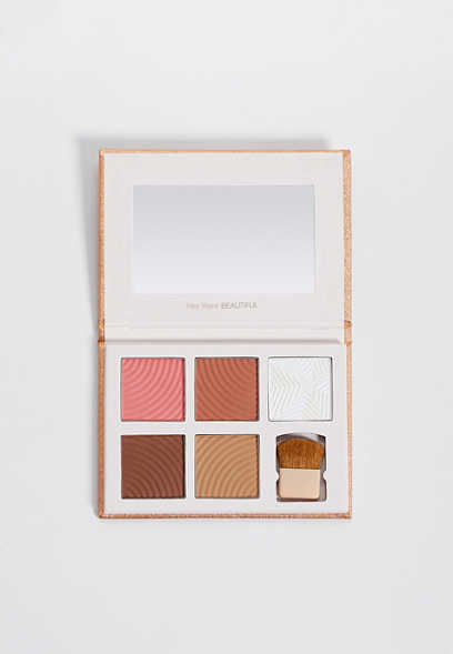 flawless blush, bronzer, and highlight palette