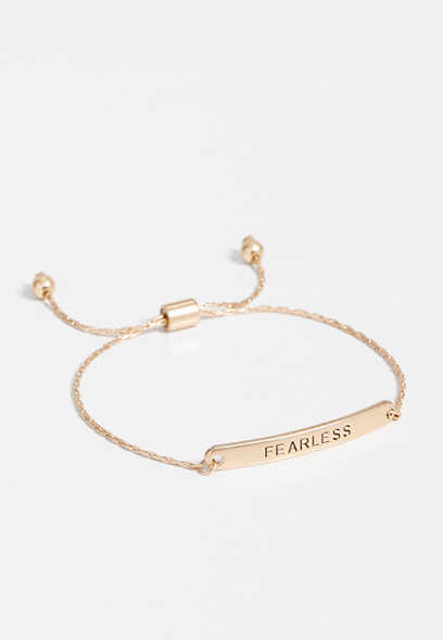 fearless pull knot bracelet
