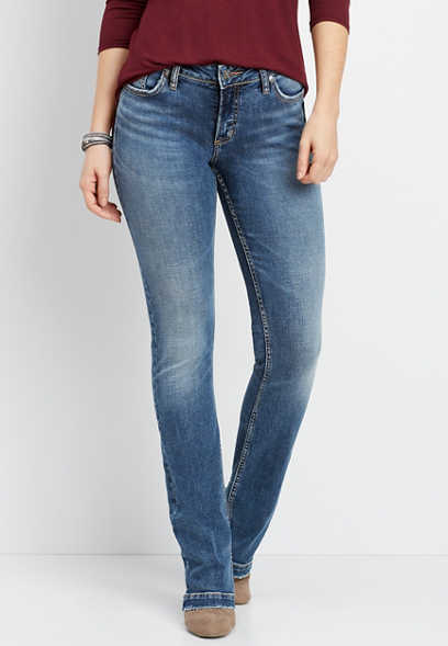 Silver Jeans Co.® Elyse medium wash slim boot jean
