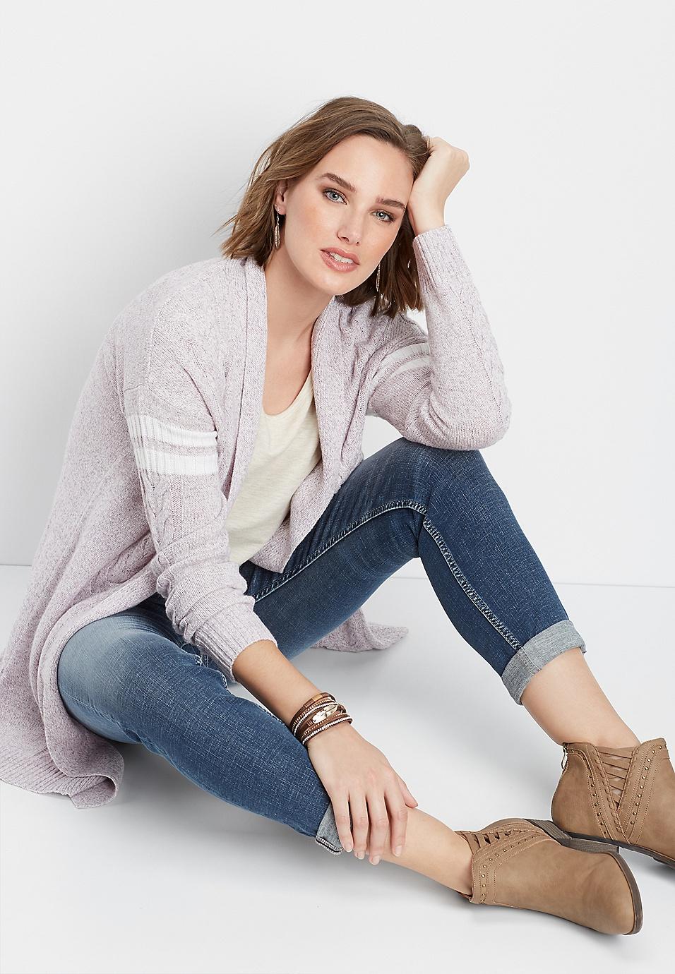 49bd6d421bbf0 Silver Jeans Co.® arrow stitch boyfriend jean