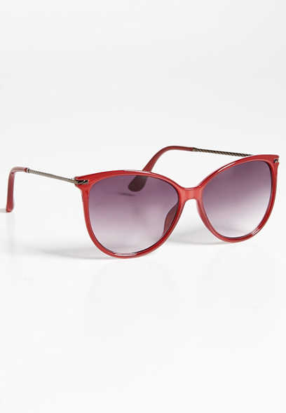 Carioca twist sides cat eye sunglasses