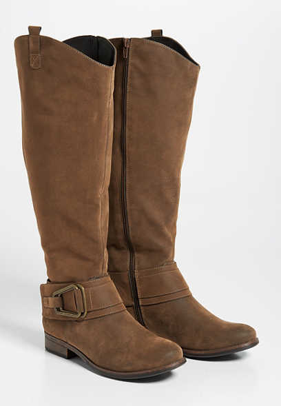 Gabby wide calf tall boot