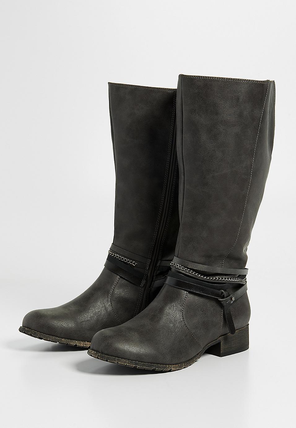 0c56ebb97e5 Gail wide calf tall boot