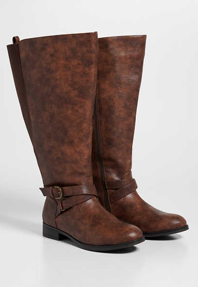 Gina extra wide calf tall boot