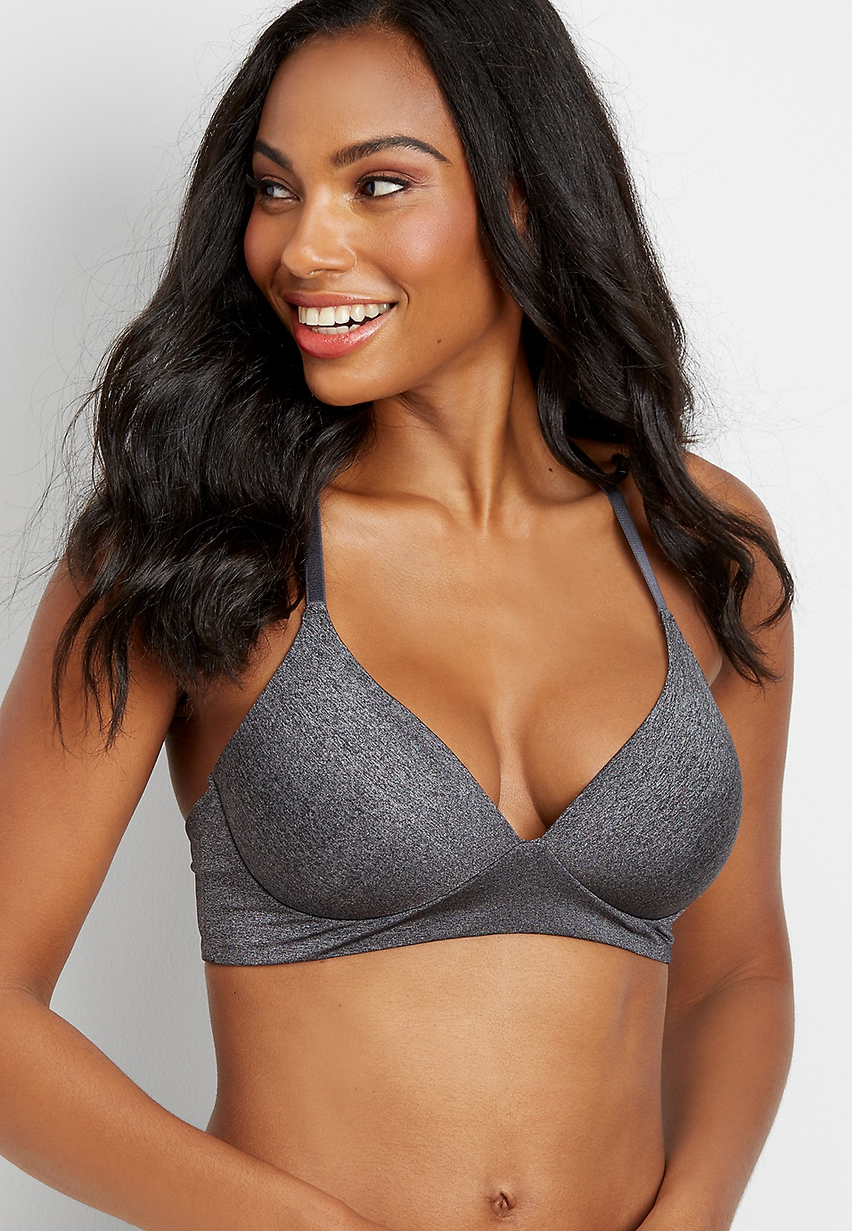4b27b3708ba97 strappy back molded cup bralette