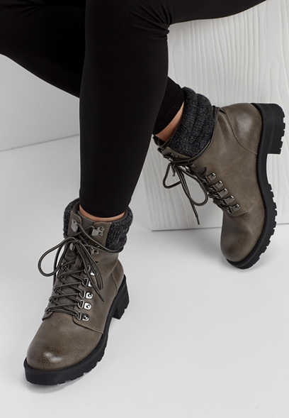 MIA Lindsey lace up boot