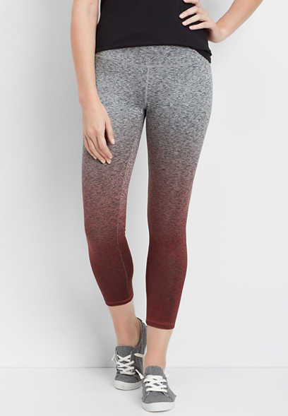 ombre spacedye 7/8 active legging