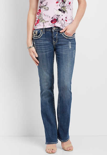 Vigoss ® low rise boot cut jean