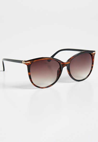 Bonfire cat eye sunglasses