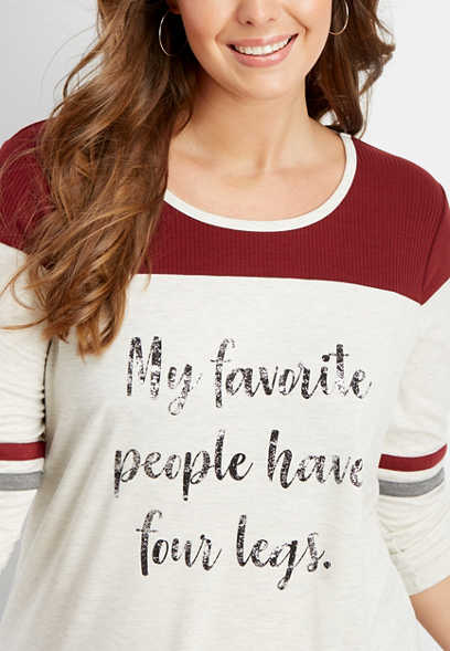 plus size favorite people graphic tee