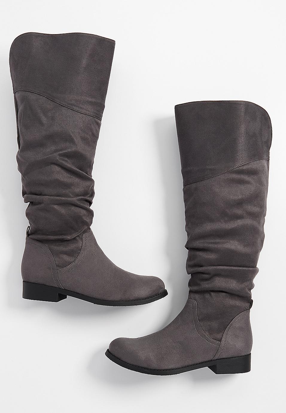 8080f53c73e Greta scrunch tall boot