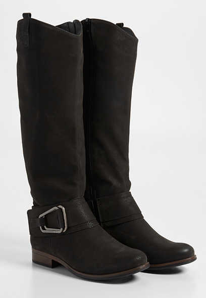Gabby big buckle boot