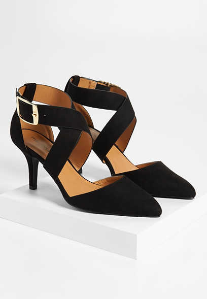 Naomi cross front heel