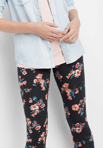 floral ultra soft legging