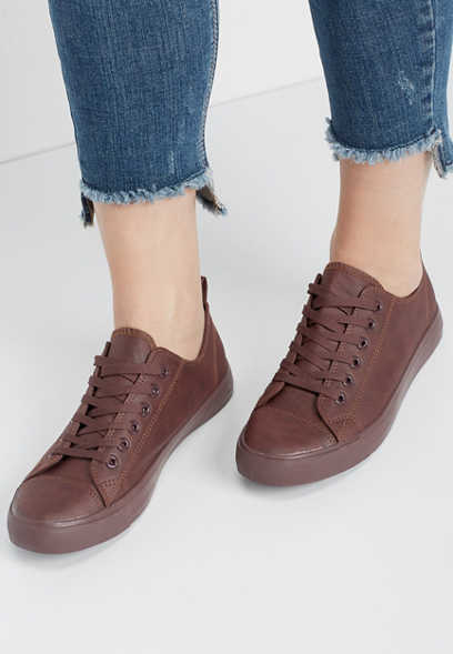 Haven faux leather sneaker