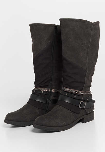 Ginger tall moto boot