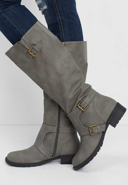 Georgia hooded tall boot