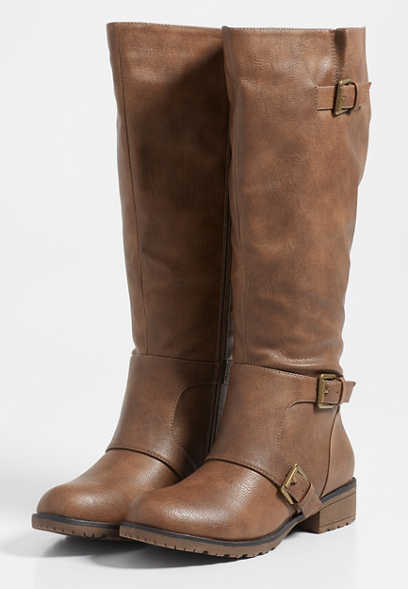 Georgia wide calf boot