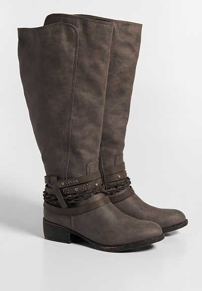 Gretchen wide calf tall boot