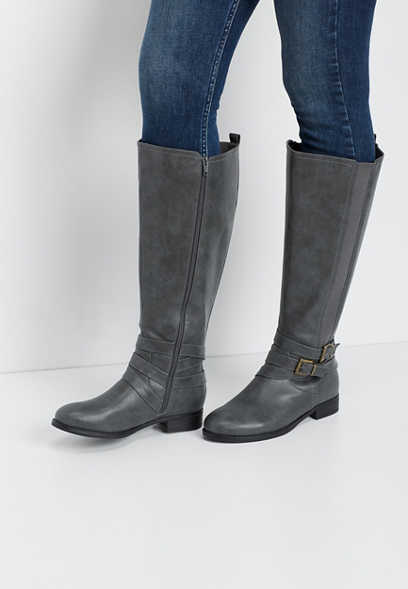 Gia double gore tall boot