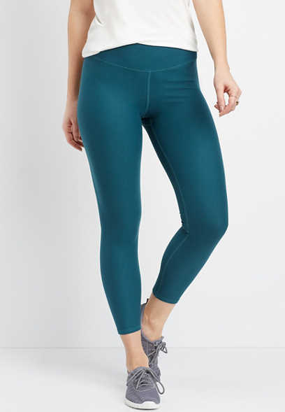 high rise 7/8 length basic legging