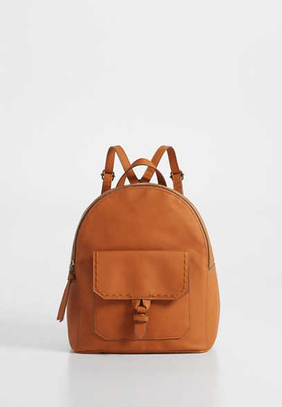 knot front backpack