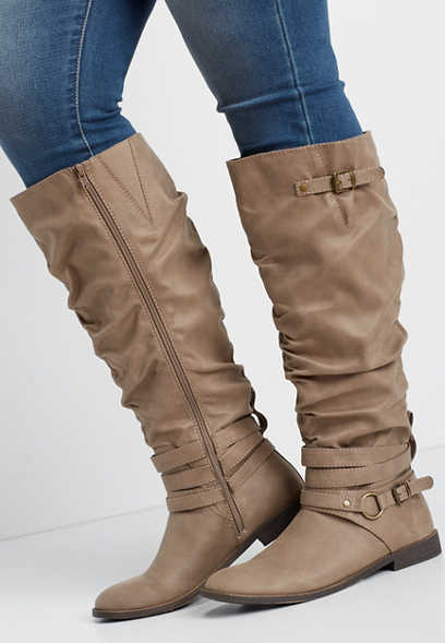 Gigi wide calf tall boot