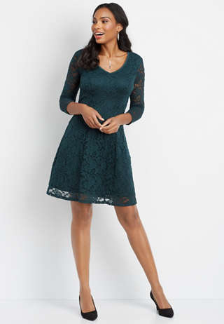 Gray Little Black Dresses Maurices