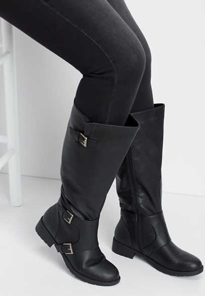 Georgia extra wide calf tall boot